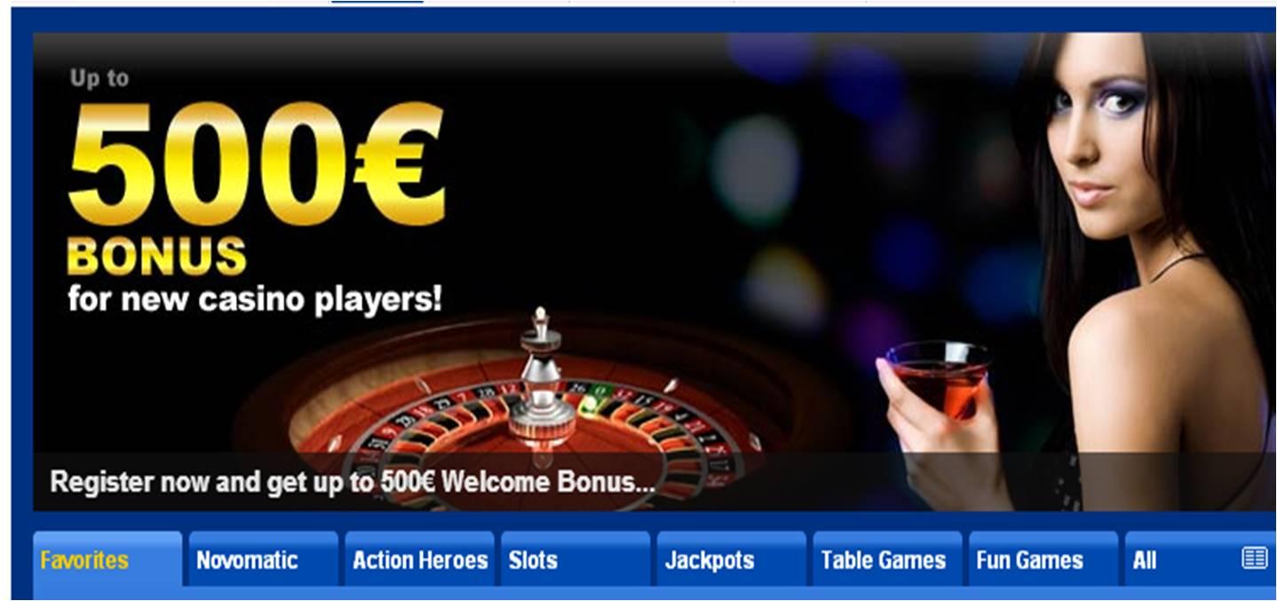 бездепозитный бонус казино сразу