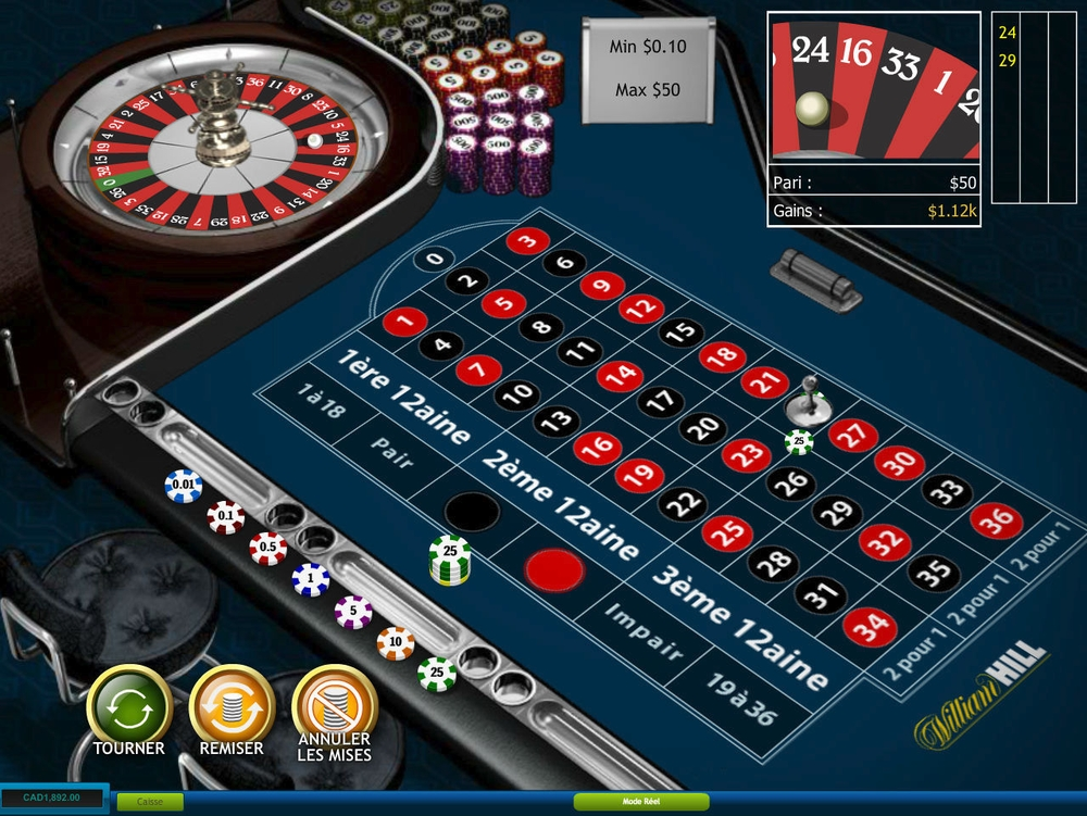 Get amazing bonuses and offers at William Hill Live Casino