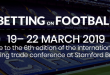 Betting on Football (19-22 March 2019)