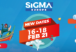 SiGMA Europe to be the first gaming conference of 2021