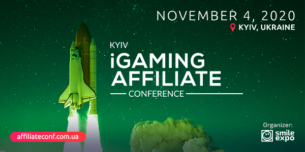 Kyiv iGaming Affiliate Conference 2020 about Efficient Ways of Earning in Gambling Niche to Take Place on November 4