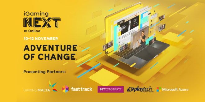 More Presenter Partners for iGaming NEXT ONLINE 2020 Adventure of Change edition